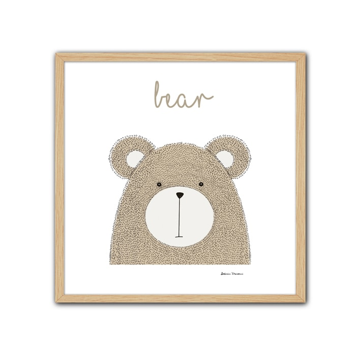 Cuadro Little Animal Bear