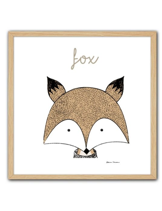 Cuadro Little Animal Fox