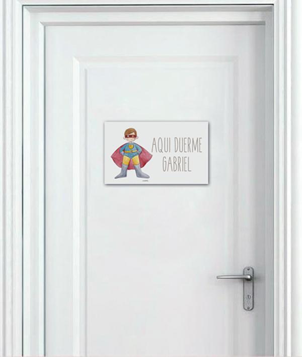 plcas puerta copia - Placa Puerta Princesas Sirenita