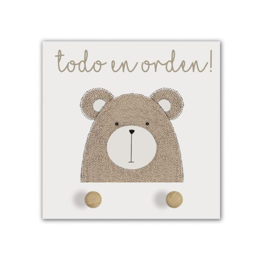 Perchero Little Animal bear-min
