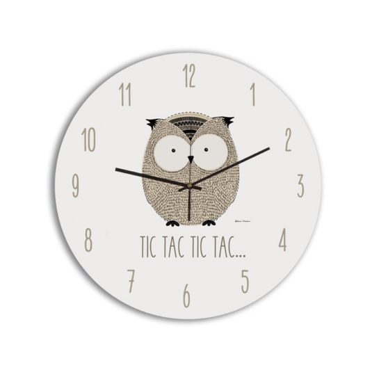 Reloj Circular Owl-min