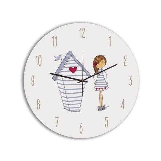 Reloj Circular niña Casita-min