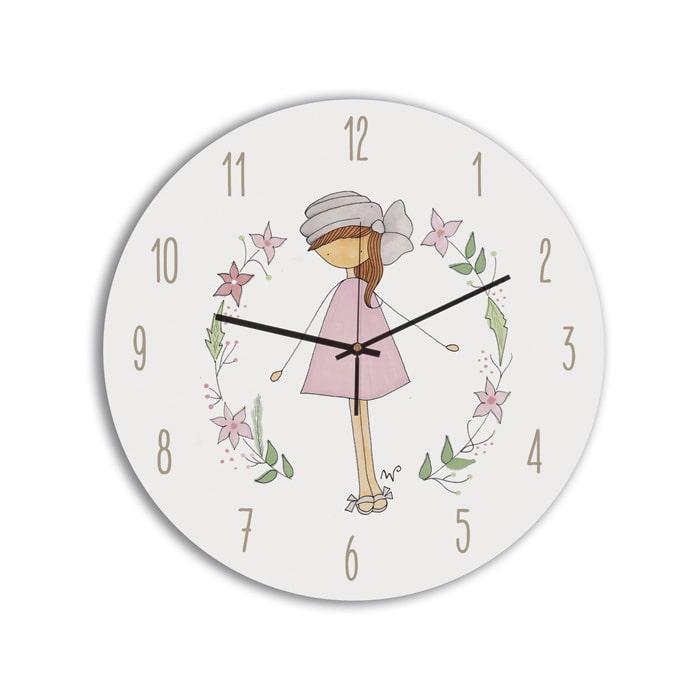 Reloj Circular niña turbante-min