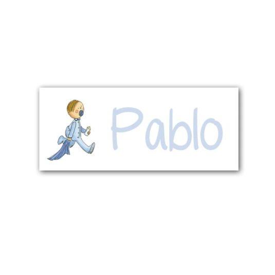 Cuadro Nombre Niño Manta-celeste-min