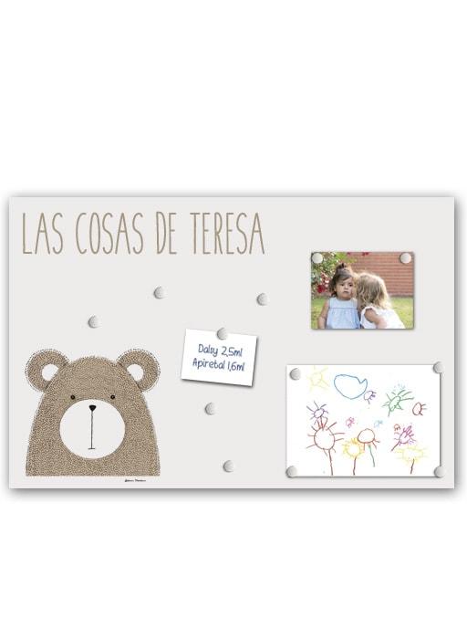 Panel Little Animal Bear Pers