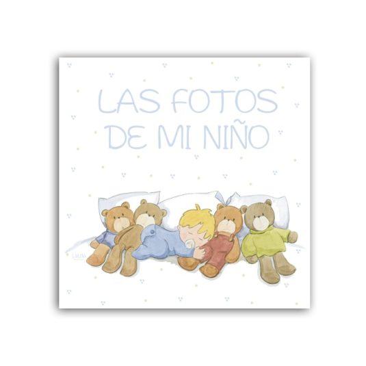 Album dormidito liso Nac