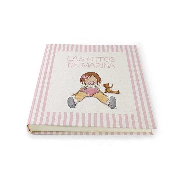 Album niña chupete raya 01 Nac
