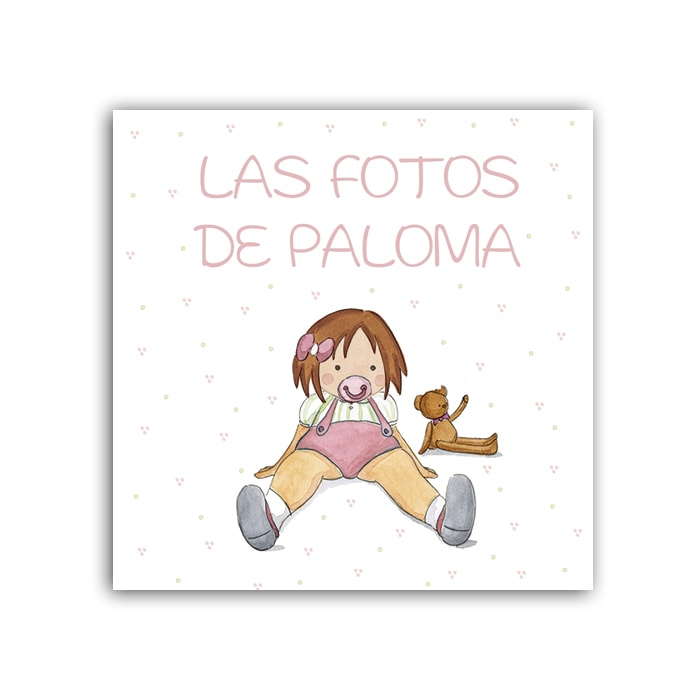 Album Niña Chupete Liso-min