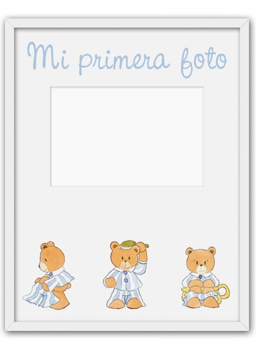 Portafoto Vert osos pijama 02