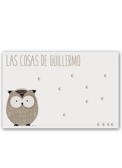 Panel Little Animal Owl