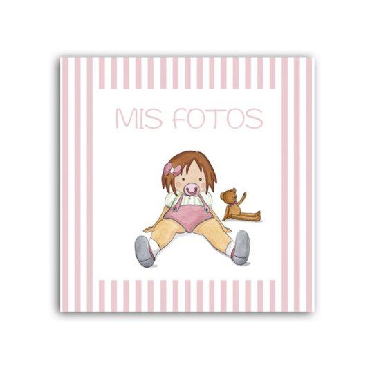 Album Niña Chupete raya 01-min