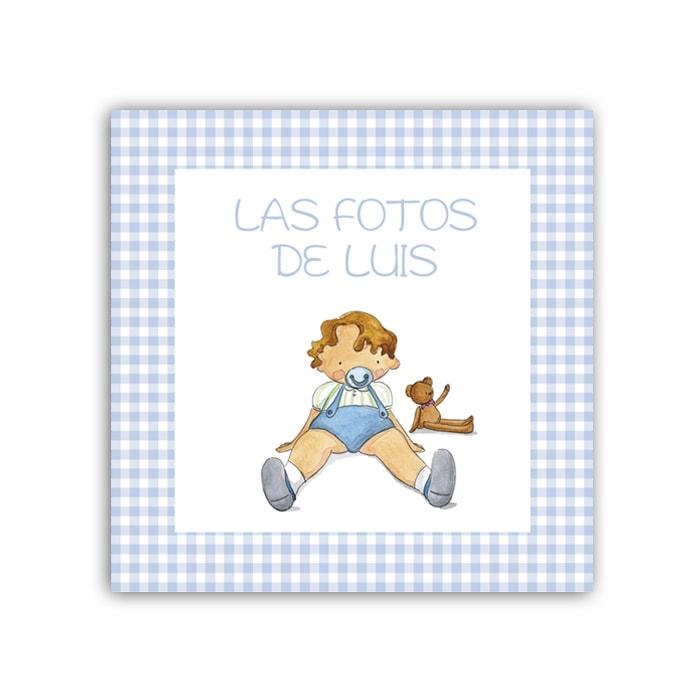 Album Niño Chupete vichy 02-min