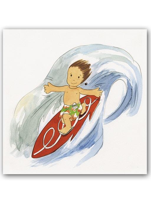 Cuadro Niños Surf4 Bast