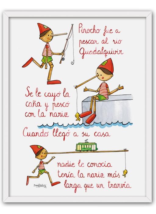 Cuadro Cancion Pinocho Mold-min