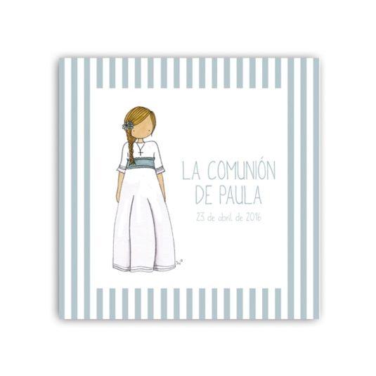 Album Niña5 rayas 15 frontal