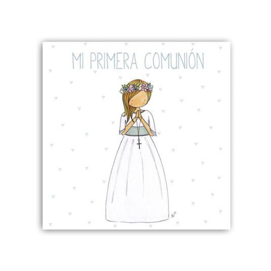 Album Niña6 liso 15 frontal