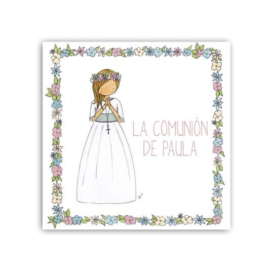 Album Niña6 flores 16 frontal