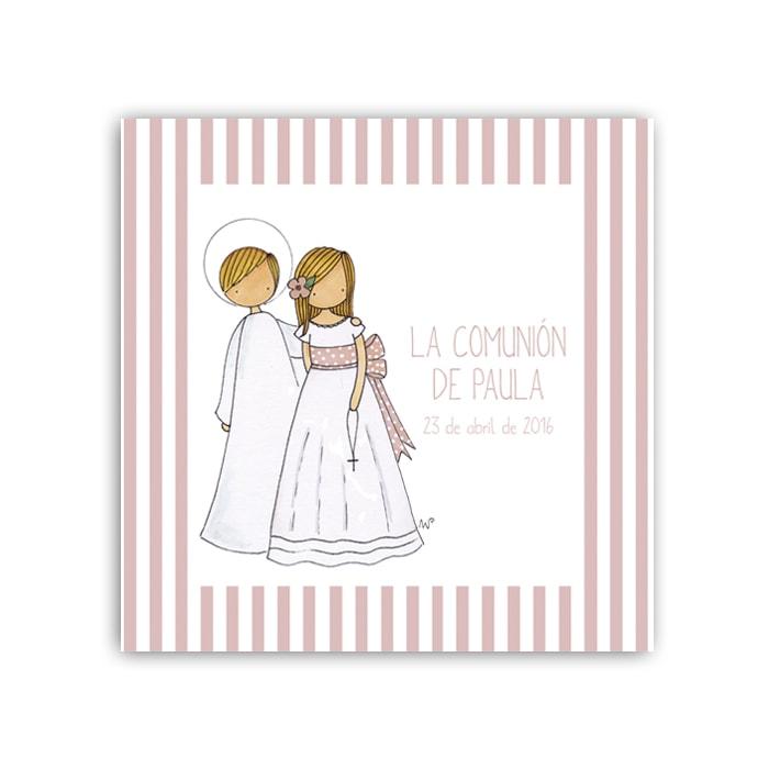 Album Niña8 rayas 16 frontal