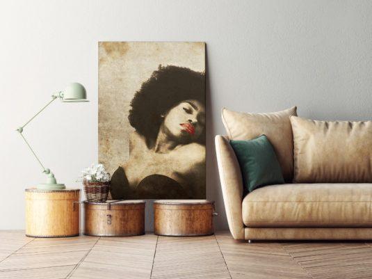AMB S26 min 535x401 - Cuadro Ebony Woman S26