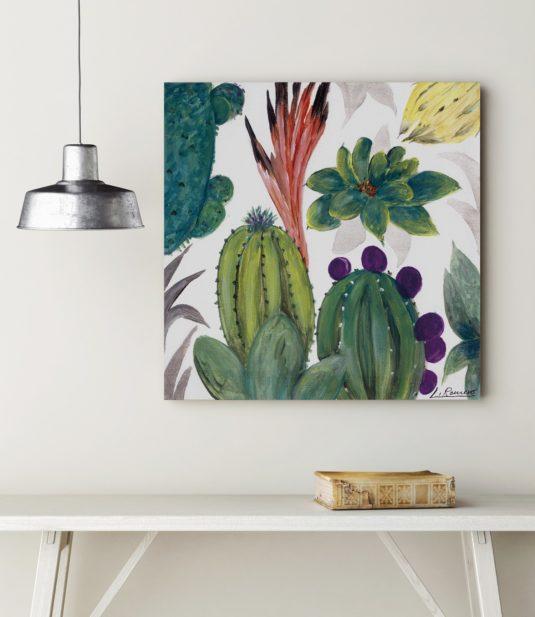 AMB LR15 min 535x617 - Cuadro Flor Cactus I LR15