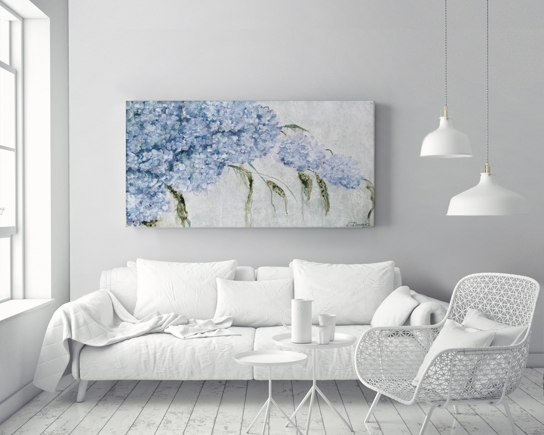 AMB LR20 min - Cuadro Hortensias Azules LR20
