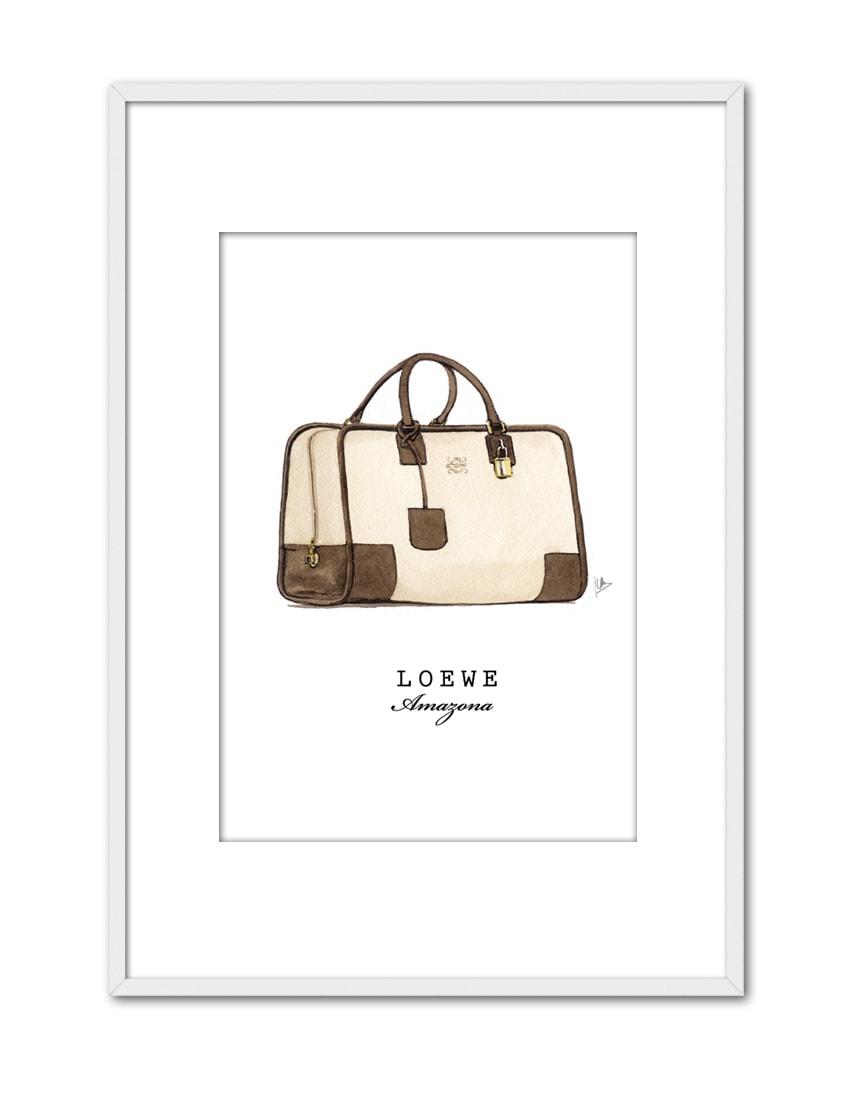 LOEWE BAG AX14 PPT BL-min