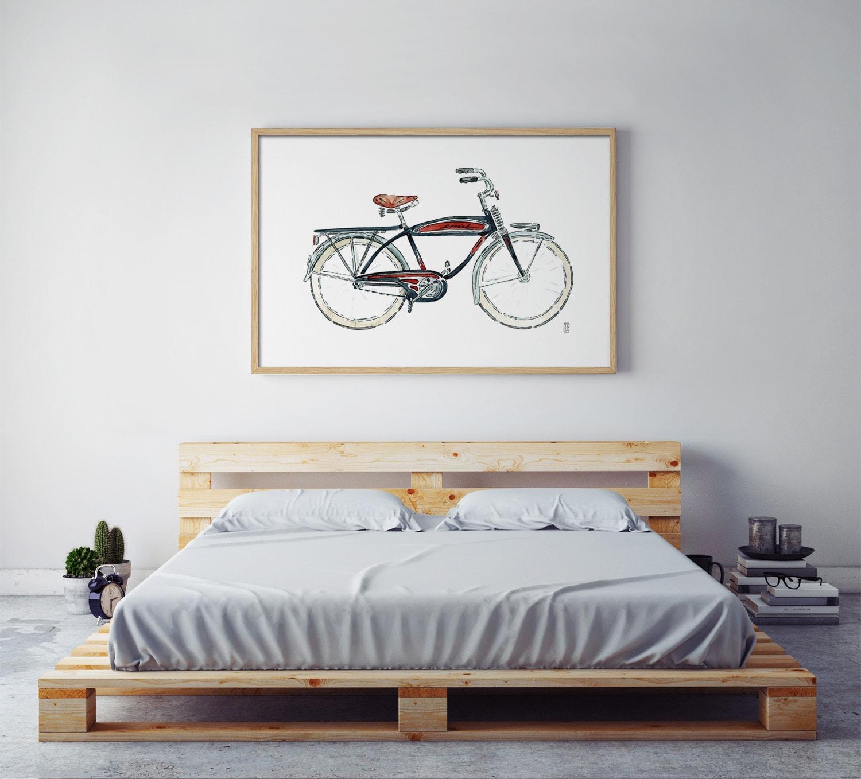 CE123 AMB min - Cuadro Bicicleta Negra CE123