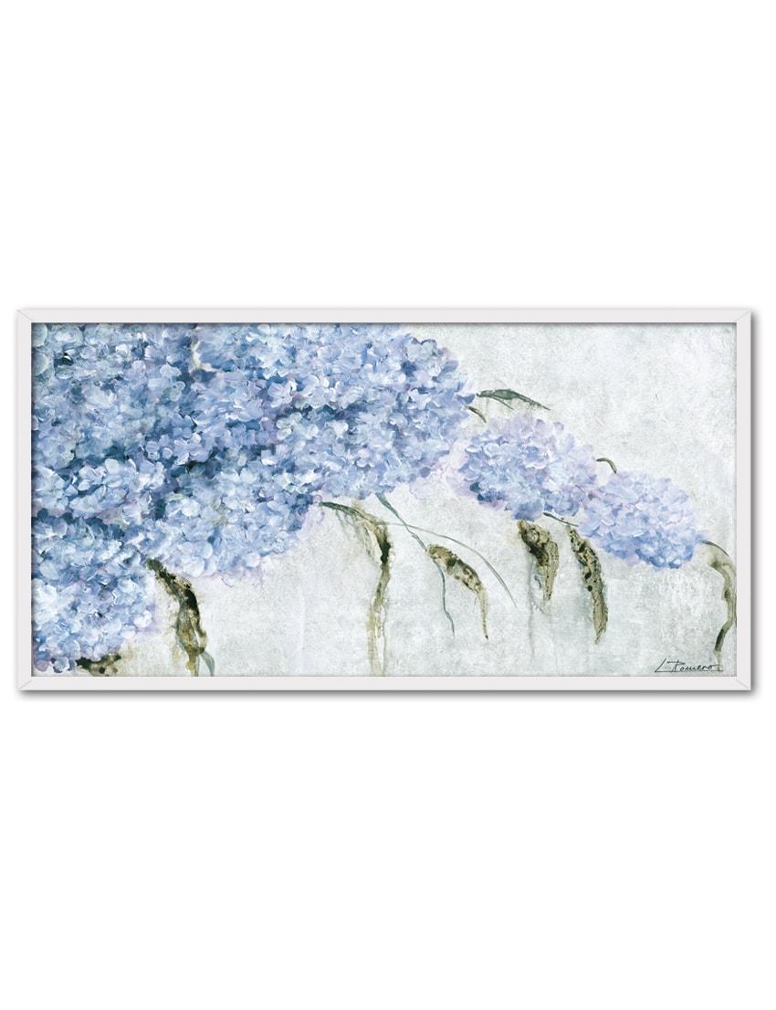 LR20 BL min - Cuadro Hortensias Azules LR20