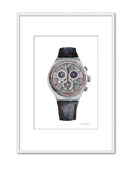 GREY WATCH PL60 PPT BL-min