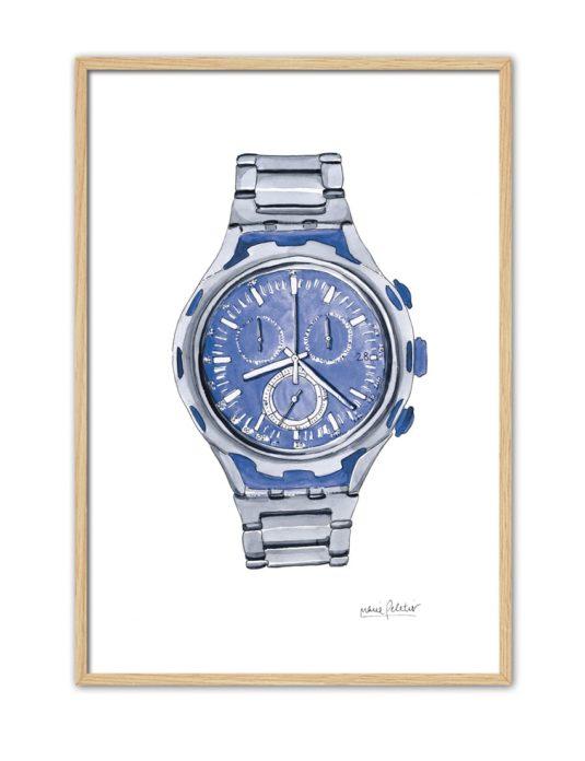 BLUE WATCH PL61 NT-min