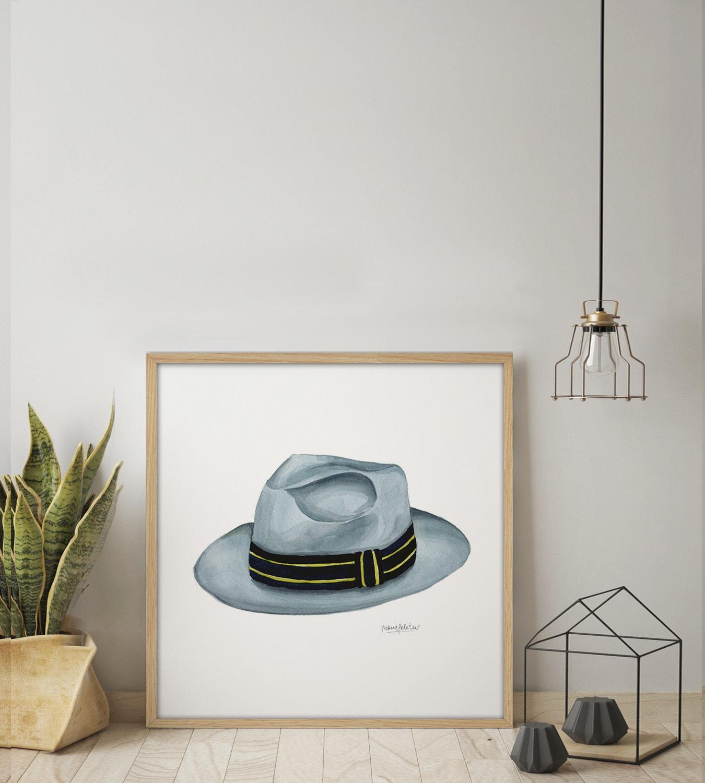PL62 AMB min - Cuadro Men Hat I PL62