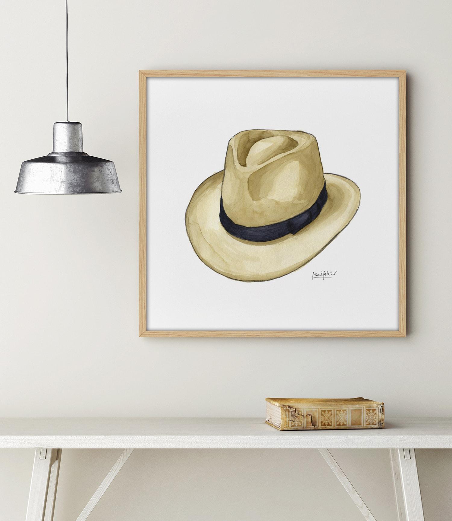 PL64 AMB min - Cuadro Men Hat III PL64