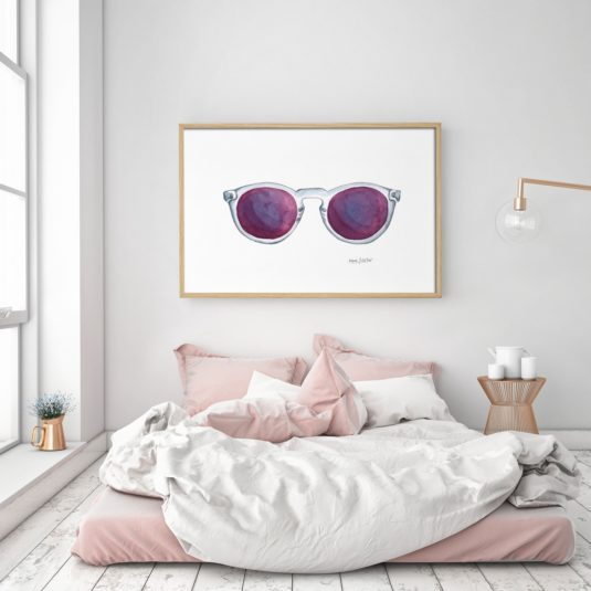 PL74 AMB min 535x535 - Cuadro Purple Glasses PL74