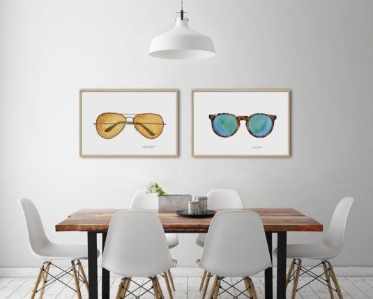 PL79 AMB min 535x428 - Cuadro Leopard Glasses PL79