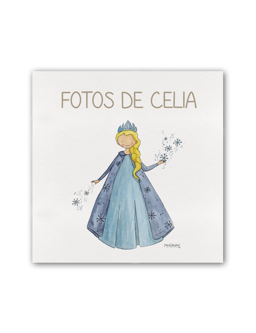 ALBUM FROZEN PLANO min - Album Princesas Frozen