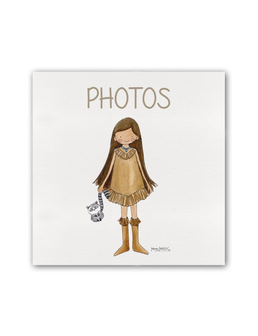 ALBUM POCAH PLANO min - Album Princesas Pocahontas