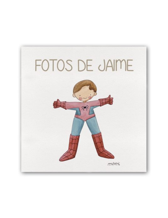 ALBUM SPIDERMAN PLANO min 535x696 - Album Super Héroes Spiderman