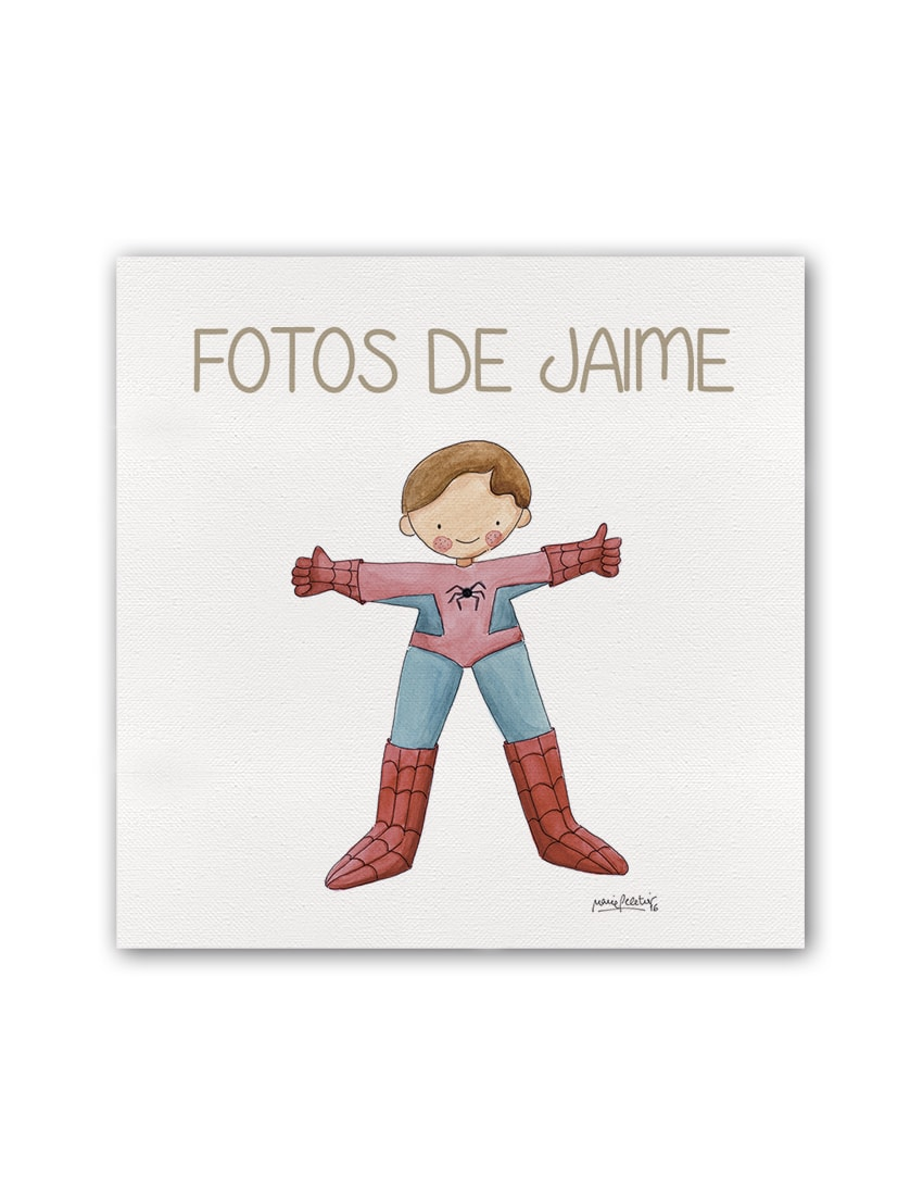 ALBUM SPIDERMAN PLANO min - Album Super Héroes Spiderman