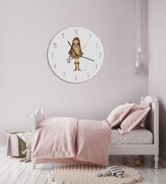 AMB SH RELOJ min 535x594 - Reloj Princesas Rapunzel
