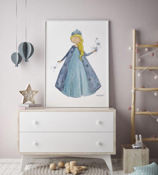 CPR F AMB min 535x594 - Cuadro Princesas Frozen