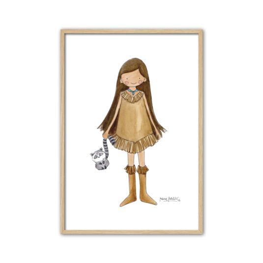 CPR P min 535x535 - Cuadro Princesas Pocahontas