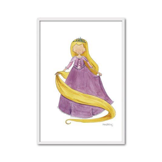 CPR R min 535x535 - Cuadro Princesas Rapunzel
