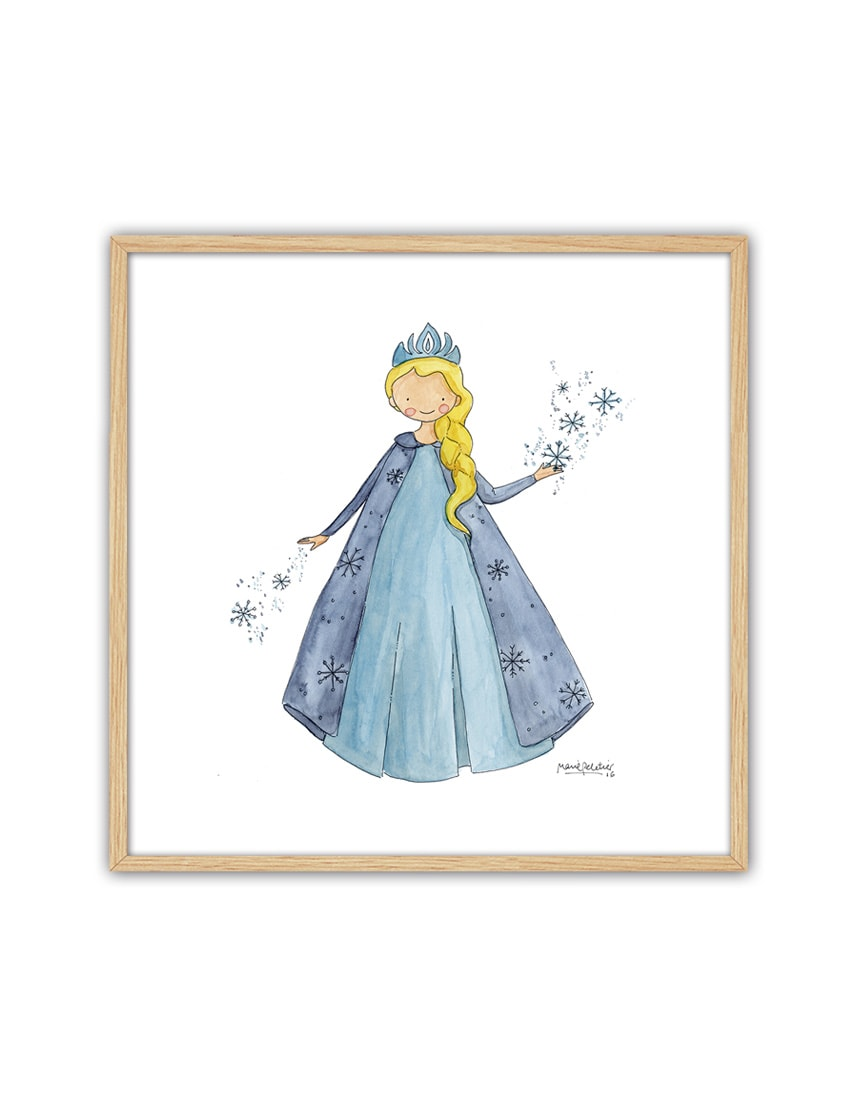 CUADRO FROZEN ENNT min - Cuadro Princesas Frozen