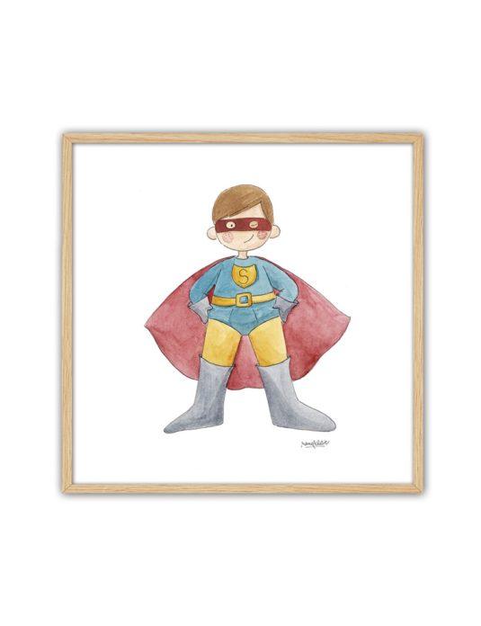 CUADRO SUPERMAN ENNT min 535x696 - Cuadro Super Héroe Superman Pequeño