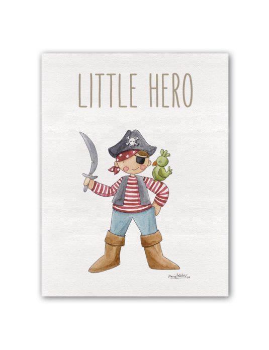 """LITTLE HERO JACK BT min 535x696 - Cuadro """"Little Hero""""  Jack"""