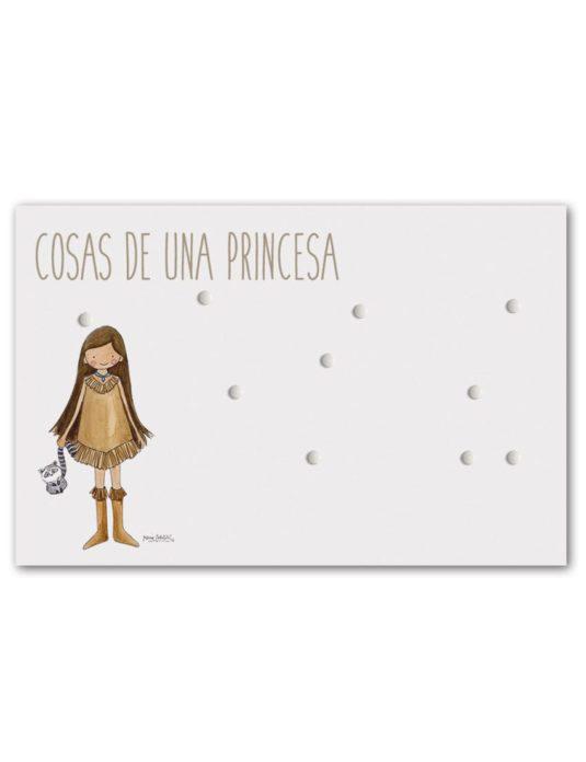 PANEL POCAH min 535x696 - Panel Magnético Princesas Pocahontas