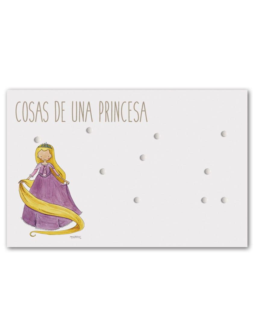 PANEL RAPUN min - Panel Magnético Princesas Rapunzel