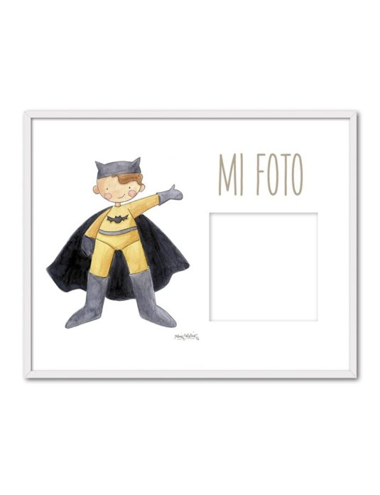 PORTAF BATMAN ENB min 535x696 - Portafoto Super Héroes Batman