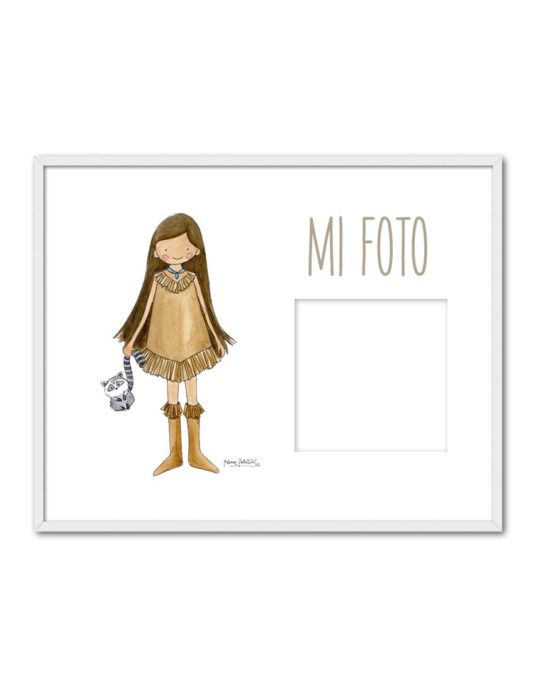 PORTAF POCAH ENB min 535x696 - Portafotos Princesas Pocahontas