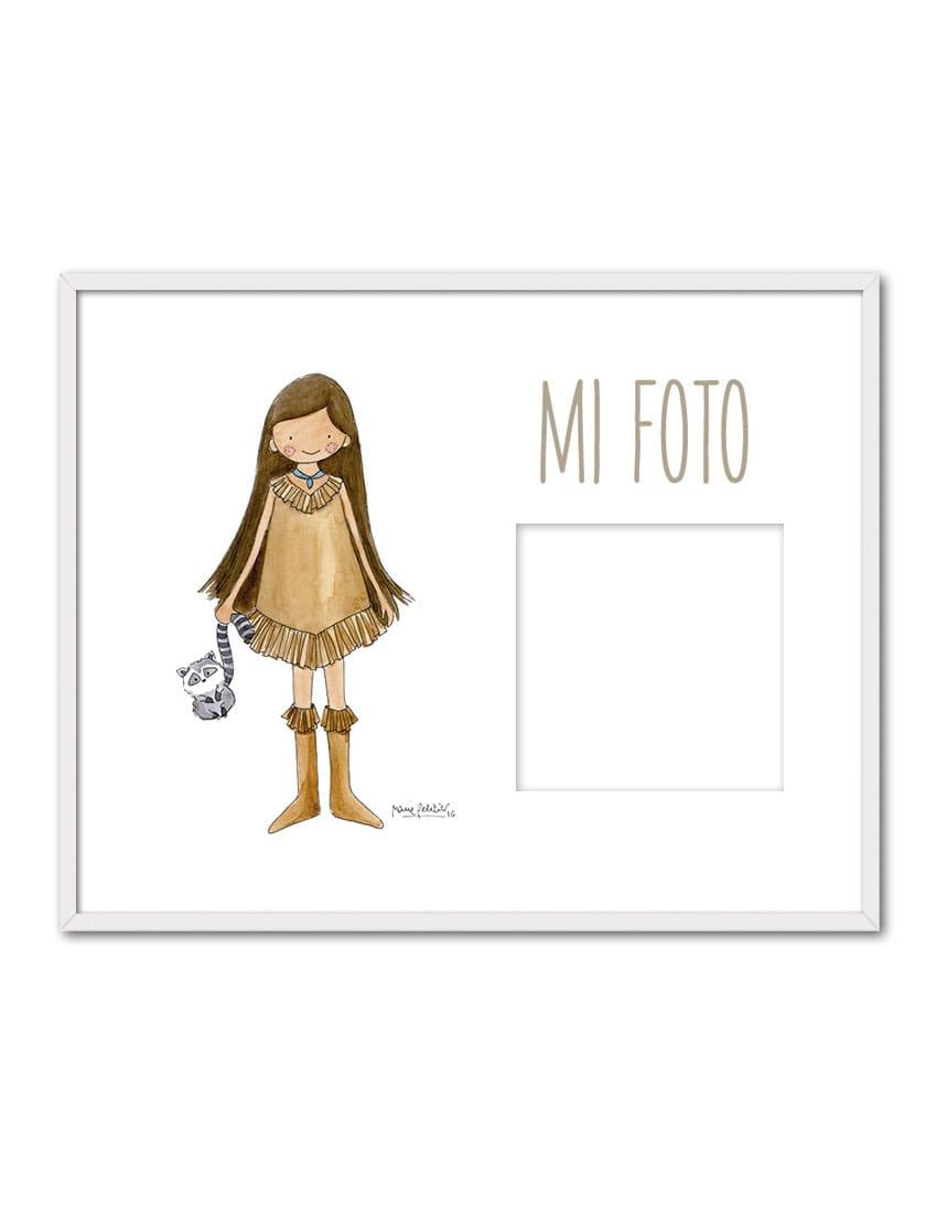 PORTAF POCAH ENB min - Portafotos Princesas Pocahontas